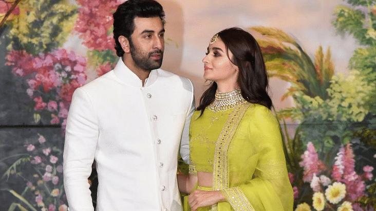 Ranbir Kapoor and Alia Bhatt.