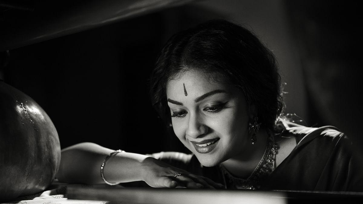 Keerthi Suresh in a still from the film Mahanati.