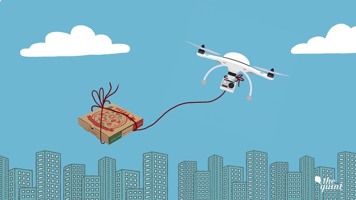 Delivery of food and other goods in India via drones could soon turn into reality.