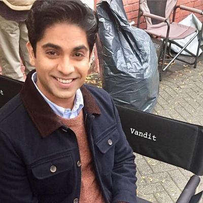 Indian-American actor Vandit Bhatt.