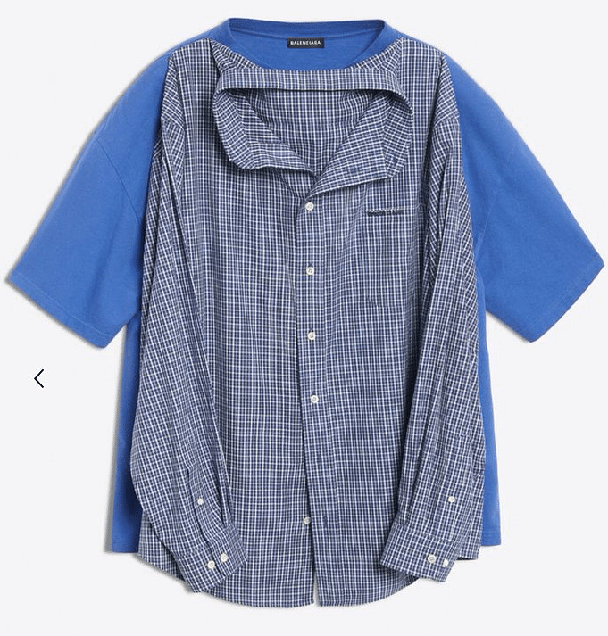 Balenciaga's newest experiment is a 't-shirt shirt'