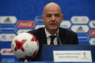 FIFA president Gianni Infantino. (File Photo: IANS)