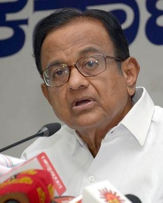 Congress leader P Chidambaram. (Photo: IANS)