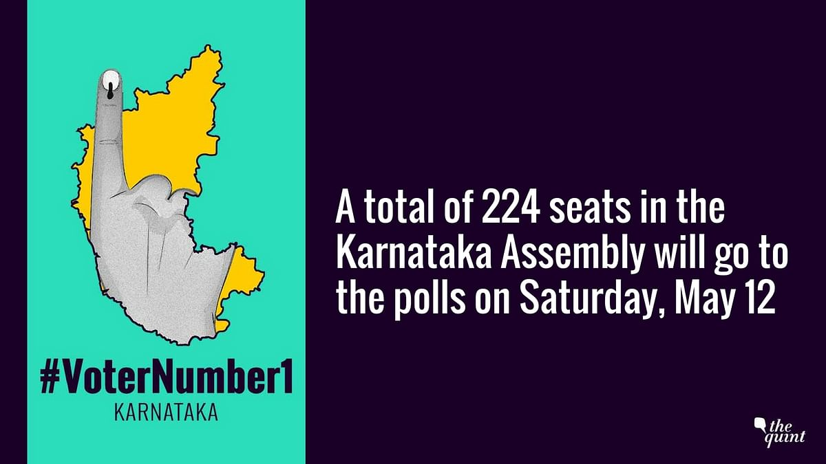 The Karnataka Assembly Elections will take place on Saturday, 12 May.