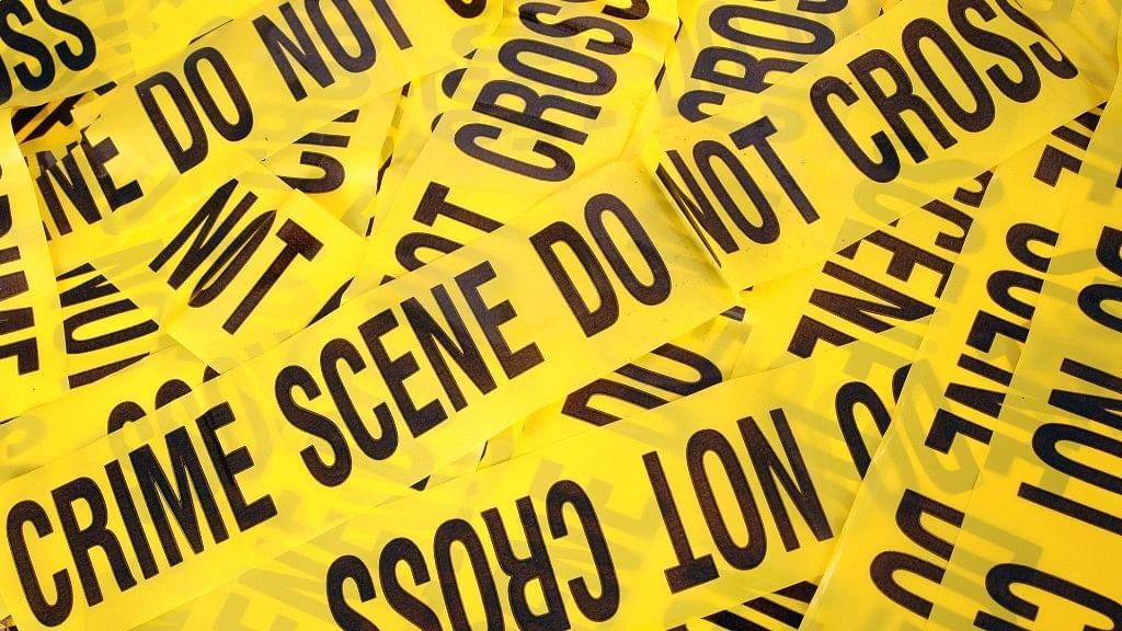 Representational image of a crime scene.