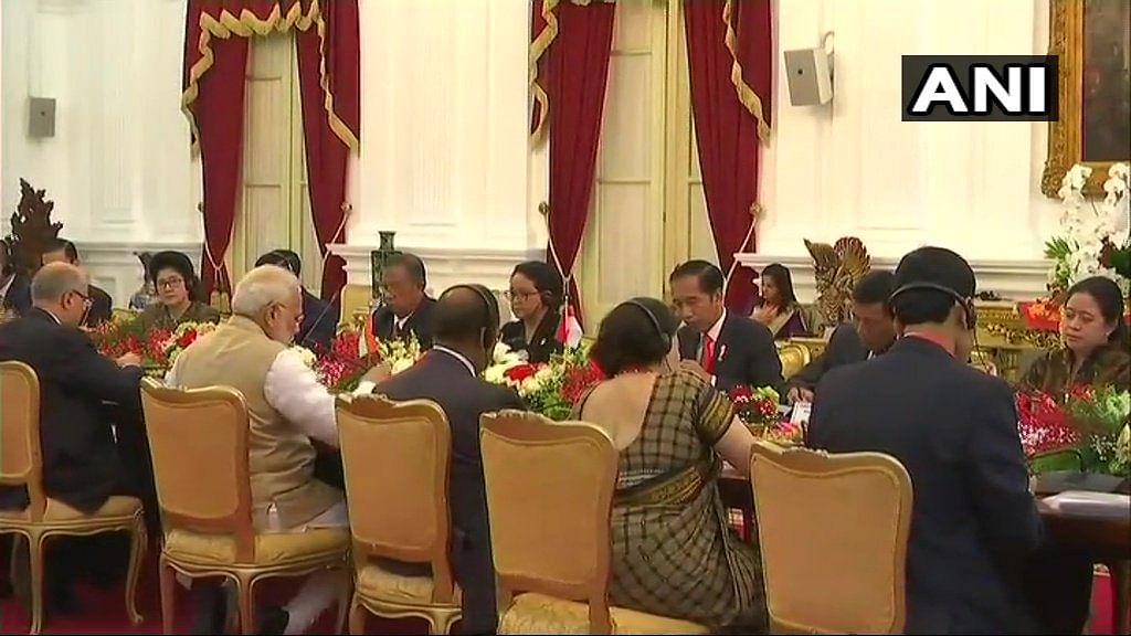 PM Modi Reaches Jakarta, Holds Delegation Talks