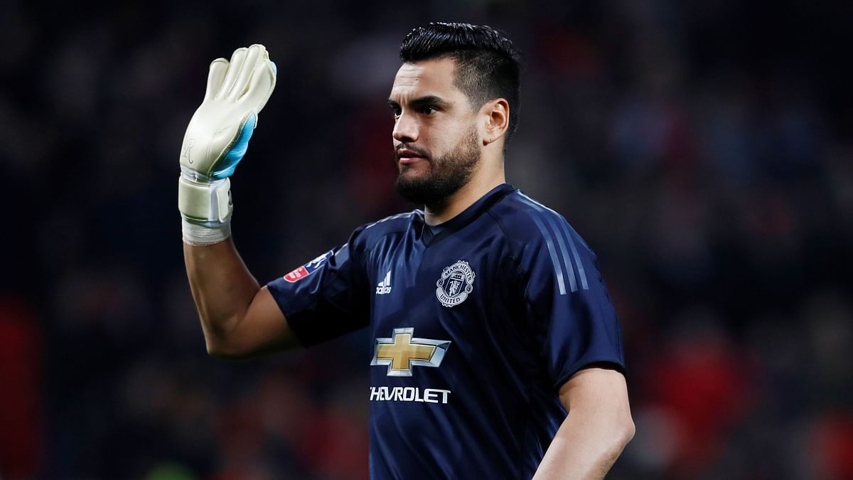 Sergio Romero was ruled out of Argentina's World Cup squad with a knee injury.