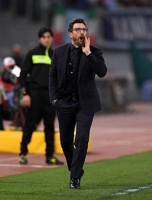 Eusebio Di Francesco. (Xinhua/Alberto Lingria/IANS)