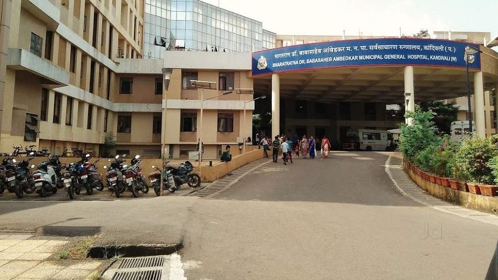 The Babasaheb Ambedkar Municipal Hospital in Mumbai.