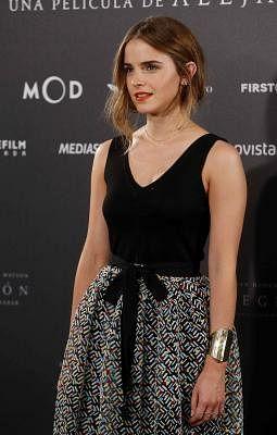 Actress Emma Watson. (IANS/EFE/Paco Campos)