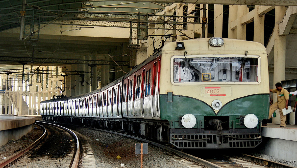 Trains leaving Beach station were operated till Thirumailai.
