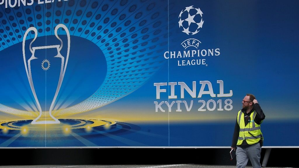 The Champions League final will be played at Olimpiyskiy National Sports Complex in Kiev in Ukraine.
