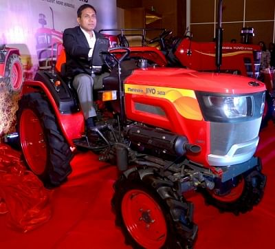 Kolkata: Mahindra & Mahindra chief of operations (farm equipment division) Shubhabrata Saha launches Mahindra
