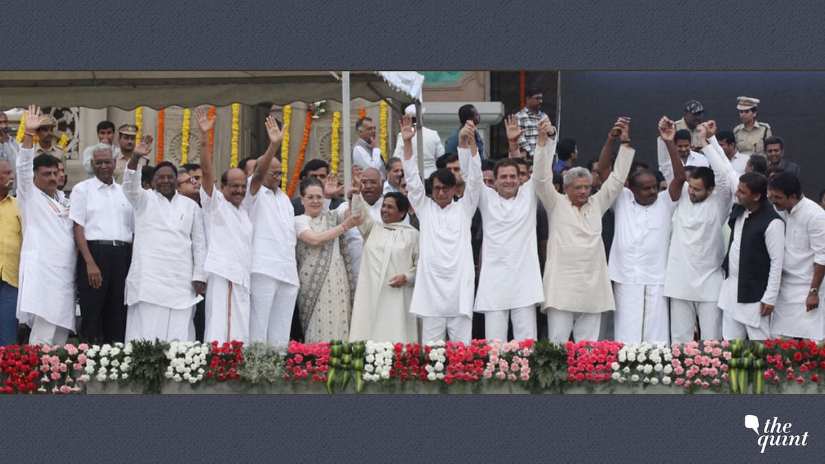 In Pictures: Opposition Leaders Unite in Karnataka Ahead of 2019