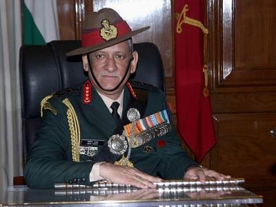 Chief of Army Staff Bipin Rawat.(File Photo: IANS)