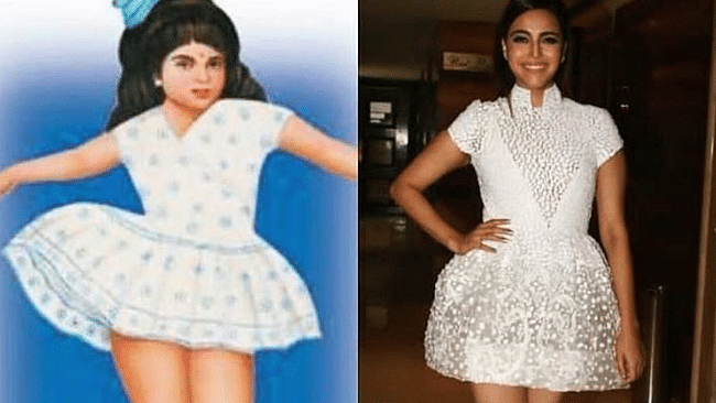 Swara Bhasker is a good sport. She laughs about a meme comparing her to the iconic 'Nirma Girl'.