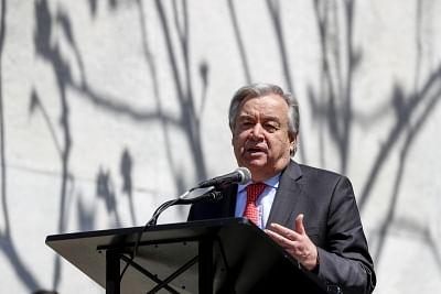 UN chief urges Syria, Israel to halt 'hostile acts'