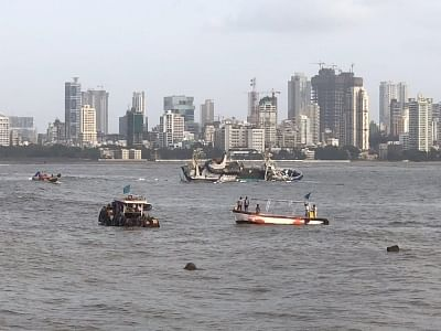 Mumbai: A view of popular floating restaurant