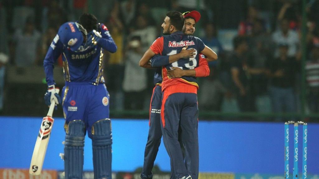 IPL 11 | Match Recap: Delhi Win by 11 Runs, Knock Mumbai Out