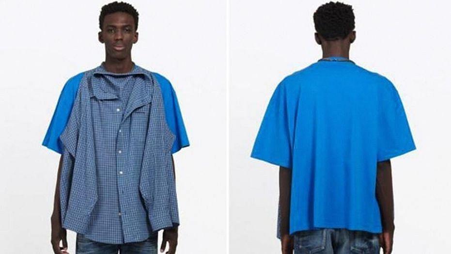 This new 'T-Shirt Shirt' design by Balenciaga costs $1,290