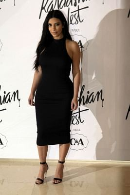 TV star Kim Kardashian. (File Photo: IANS)