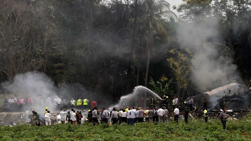 Plane with 100+  Passengers Crashes in Havana, Investigations Open