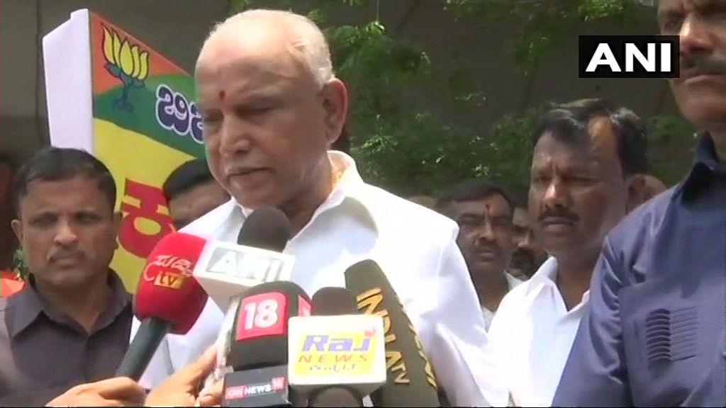 BS Yeddyurappa said the alliance won't last more than three months.
