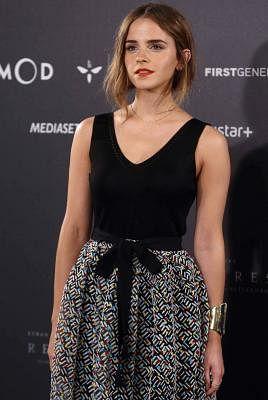 Emma Watson. (IANS/EFE/Paco Campos)