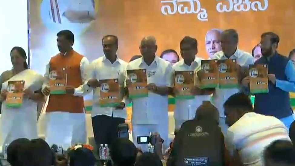 Karnataka Elections: BJP Releases Manifesto Focused on Farmers