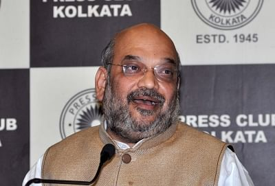 "BJP chief Amit Shah said the alliance will include ""non-corrupt parties"" in the state."