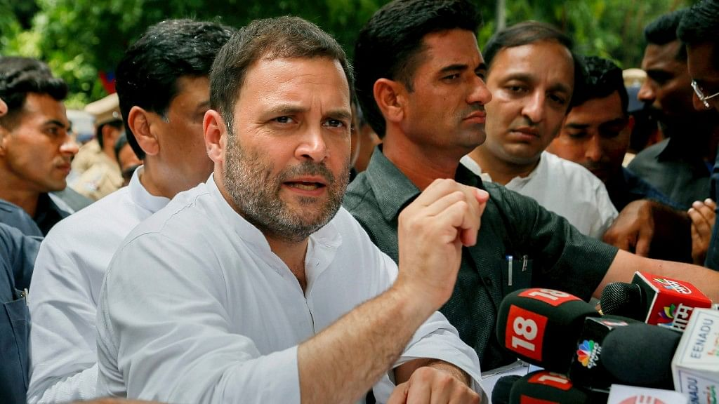 SC Issues Notice to Rahul Gandhi Over Comment on Rafale Order