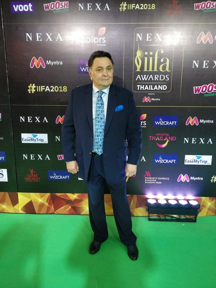 Rishi Kapoor at IIFA 2018!
