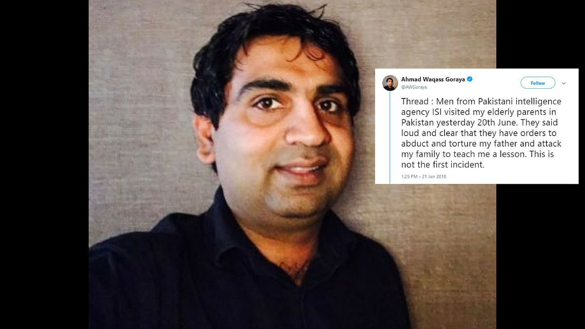 Pakistani Blogger Alleges ISI Threatened His Family to Silence Him
