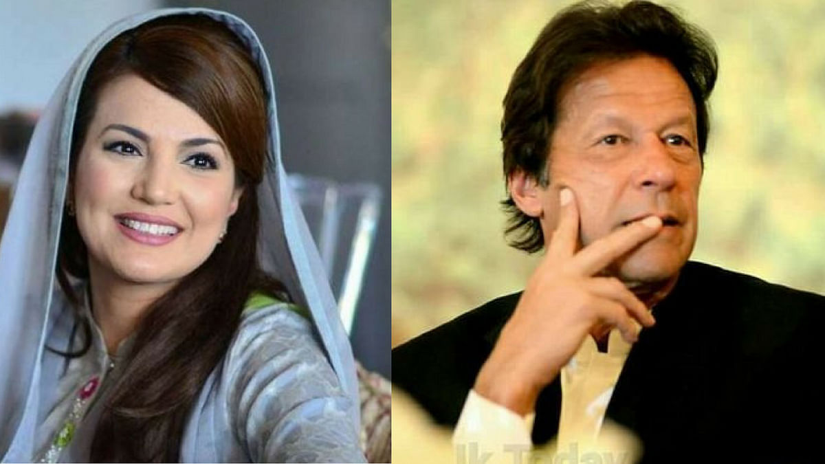 Reham Khan (left) was married to cricketer and politician Imran Khan (right) from January 2015 to October 2015.