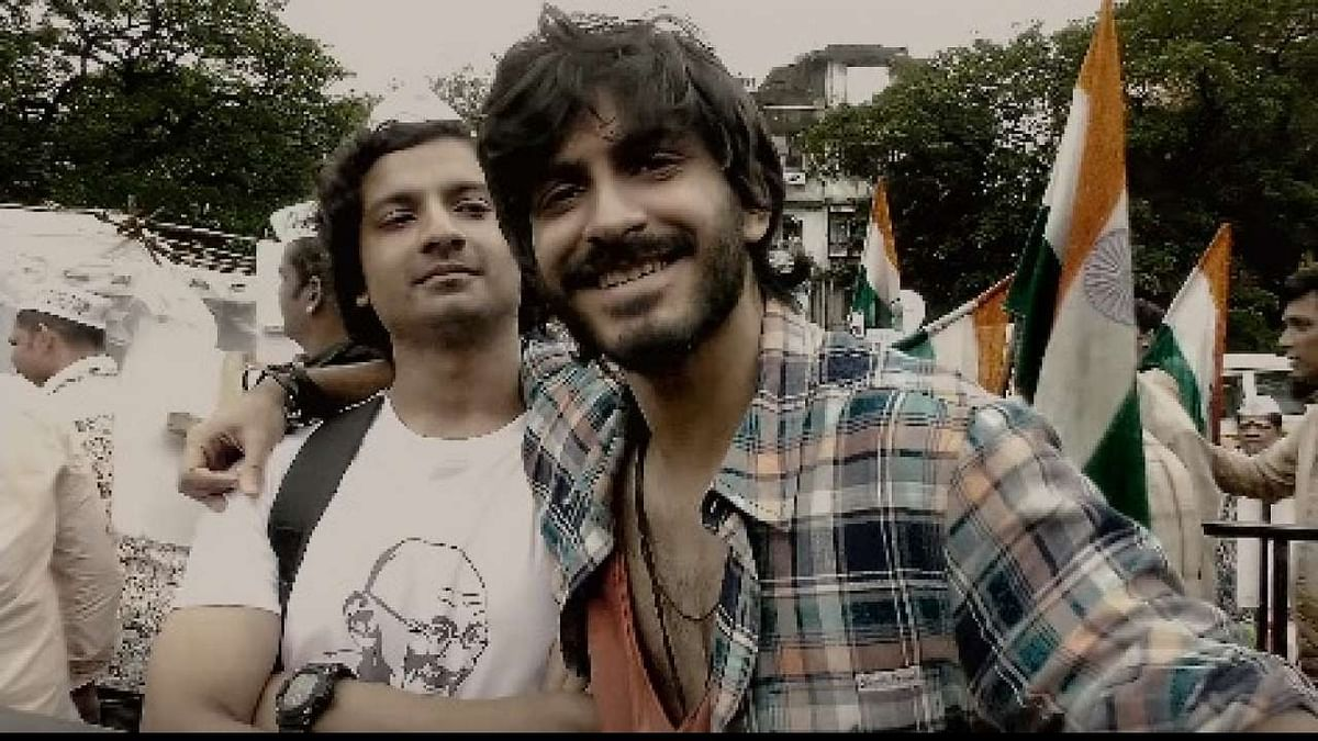Harshvardhan Kapoor and Priyanshu Painyuli in a still from <i>Bhavesh Joshi Superhero.</i>