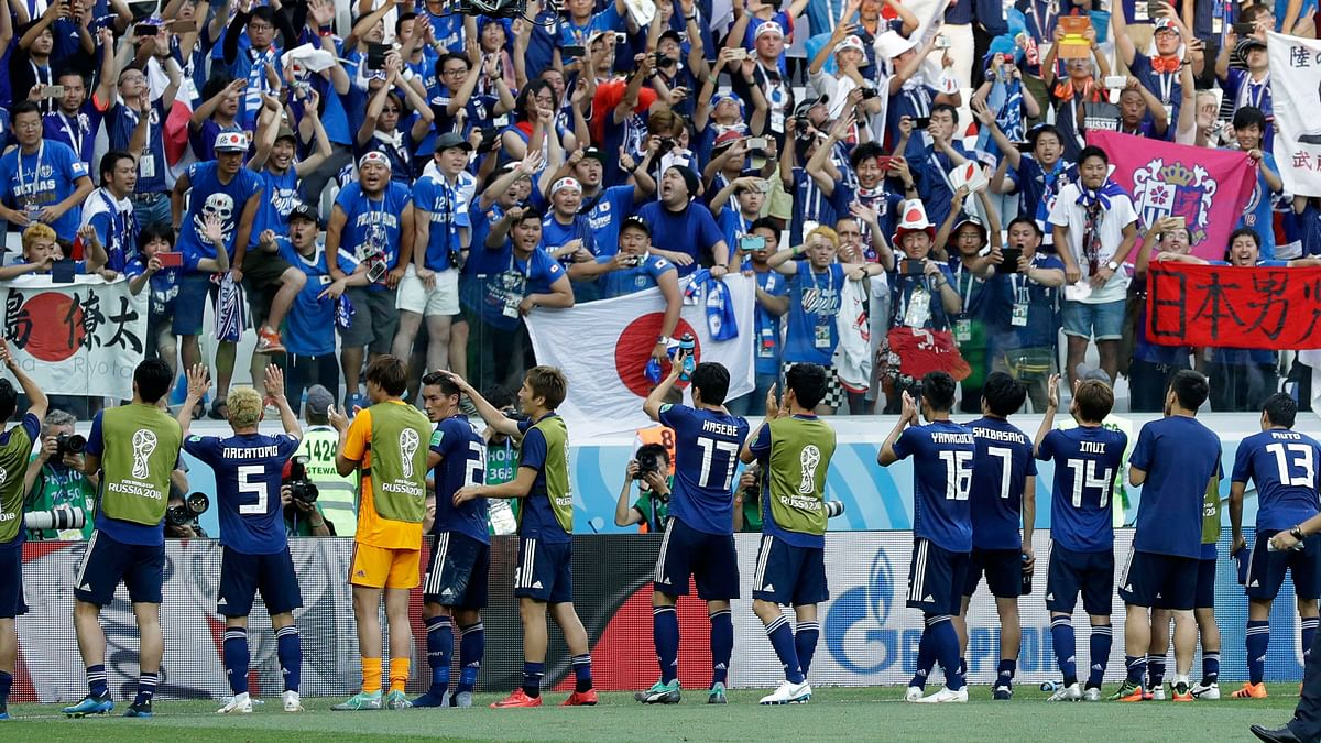 Japan Lose to Poland But Qualify for Knockouts on 'Fair Play'
