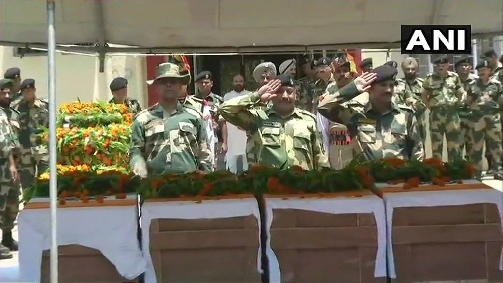 Wreath laying ceremony of the martyrs took place on Wednesday, 13 June.