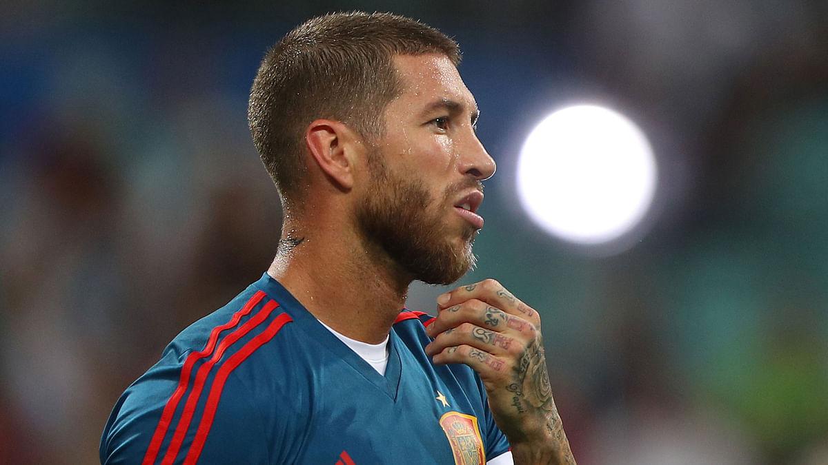 Sergio Ramos Fined by Spanish Tax Authorities