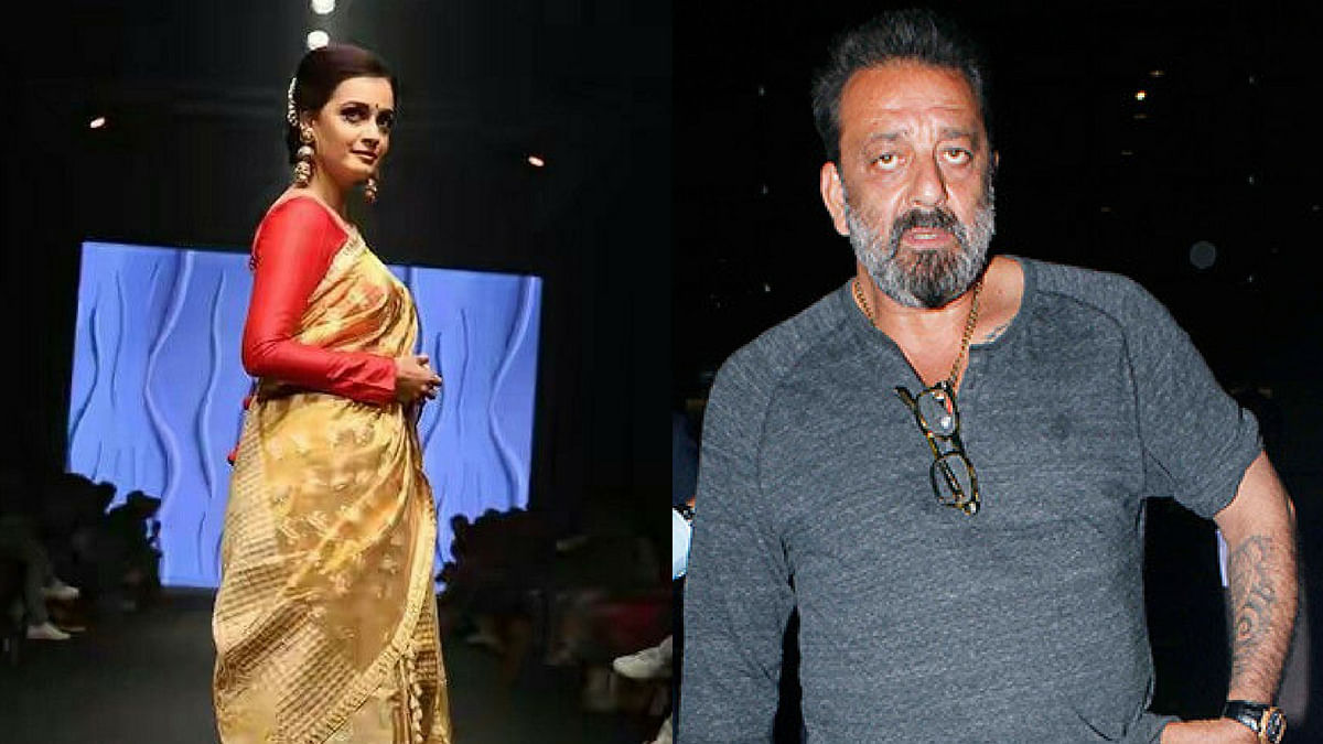 Dia Mirza and Sanjay Dutt.