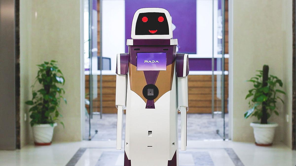The RADA Robot from Vistara