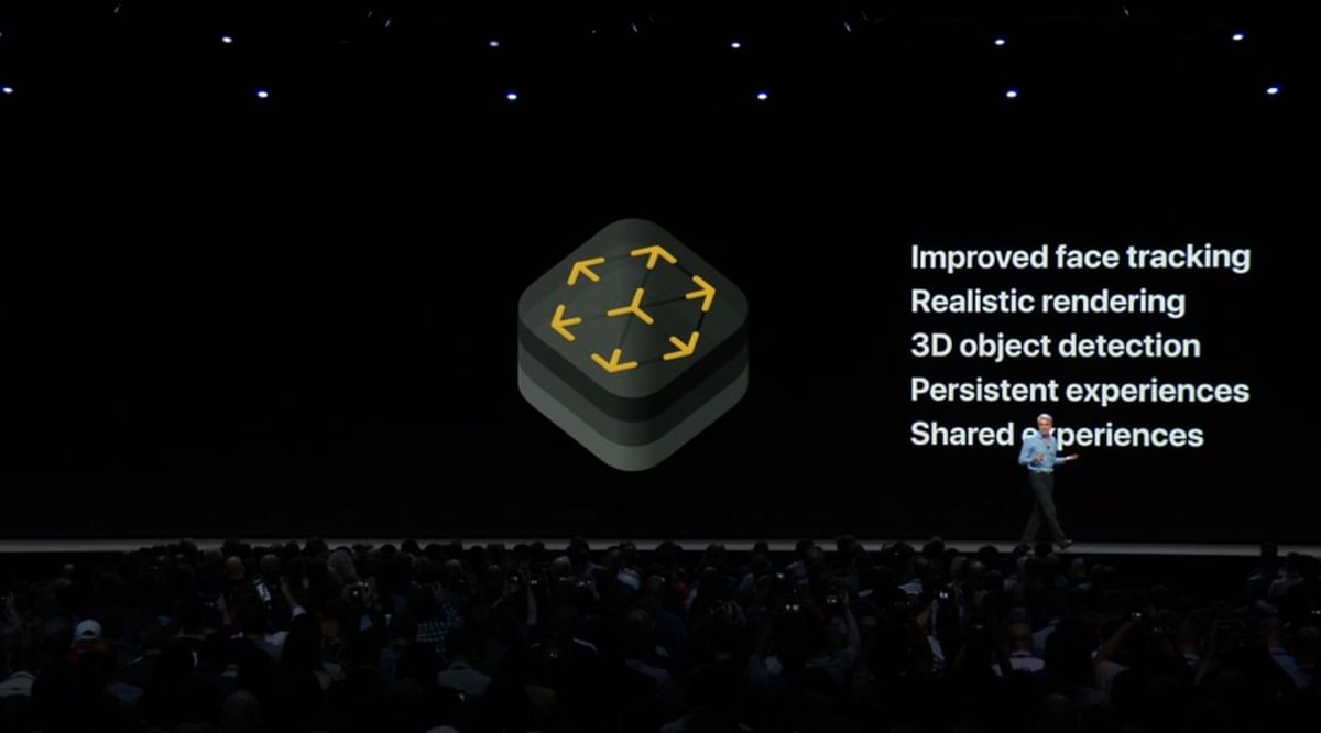 Apple Improves Augmented Reality Standards With Its  ARKit 2