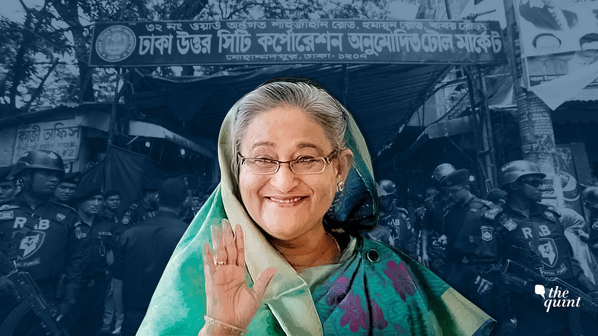 Image of Bangladesh PM Sheikh Hasina used for representational purposes.