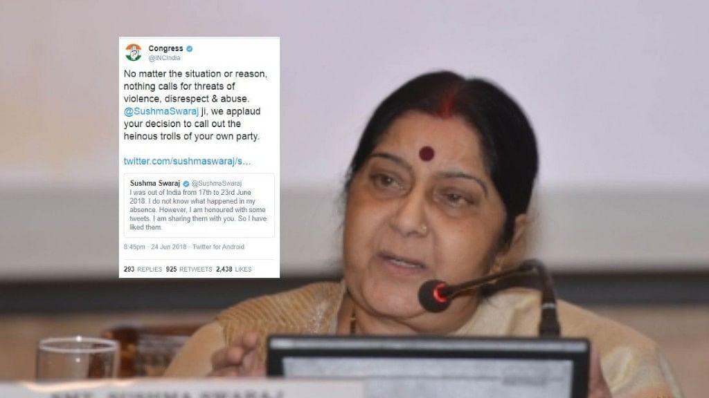 It is Wrong: Rajnath Singh Condemns Trolls Against Sushma Swaraj