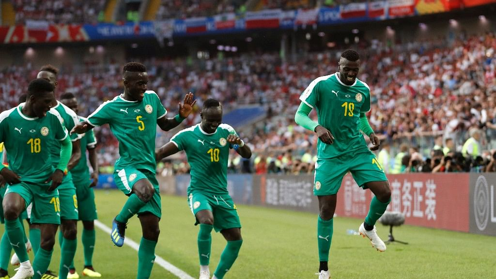 Watch: Senegal Players Sing & Dance in Their Training Session