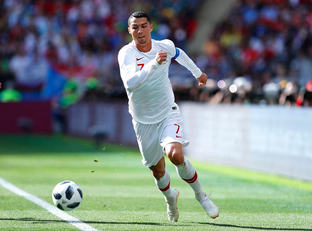 Its a race to first place and Ronaldo's efforts in the 2018 FIFA World Cup have not been found wanting