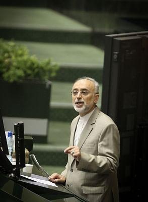 Head of the Atomic Energy Organization of Iran Ali Akbar Salehi. (Xinhua/Ahmad Halabisaz/IANS)