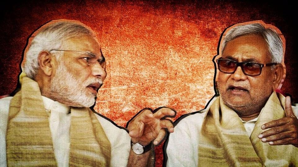 PM Narendra Modi and Bihar CM Nitish Kumar.