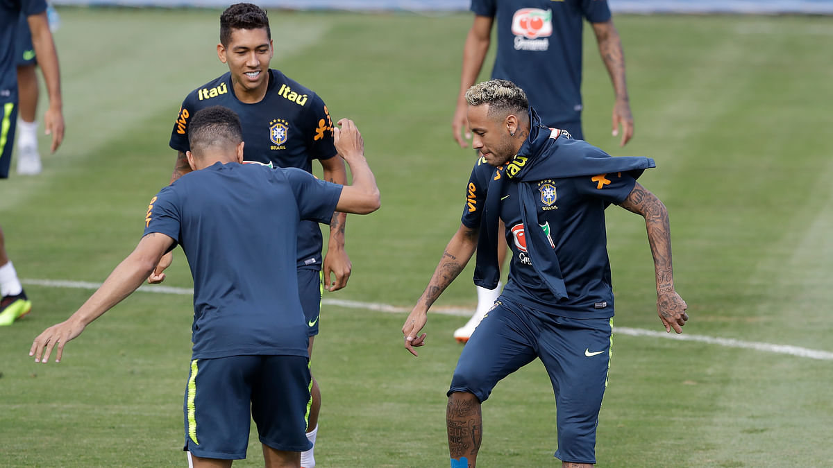 FIFA World Cup: After Injury Scare, Neymar Returns to Training