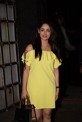 Mumbai: Actress Yami Gautam at casting director Mukesh Chhabra