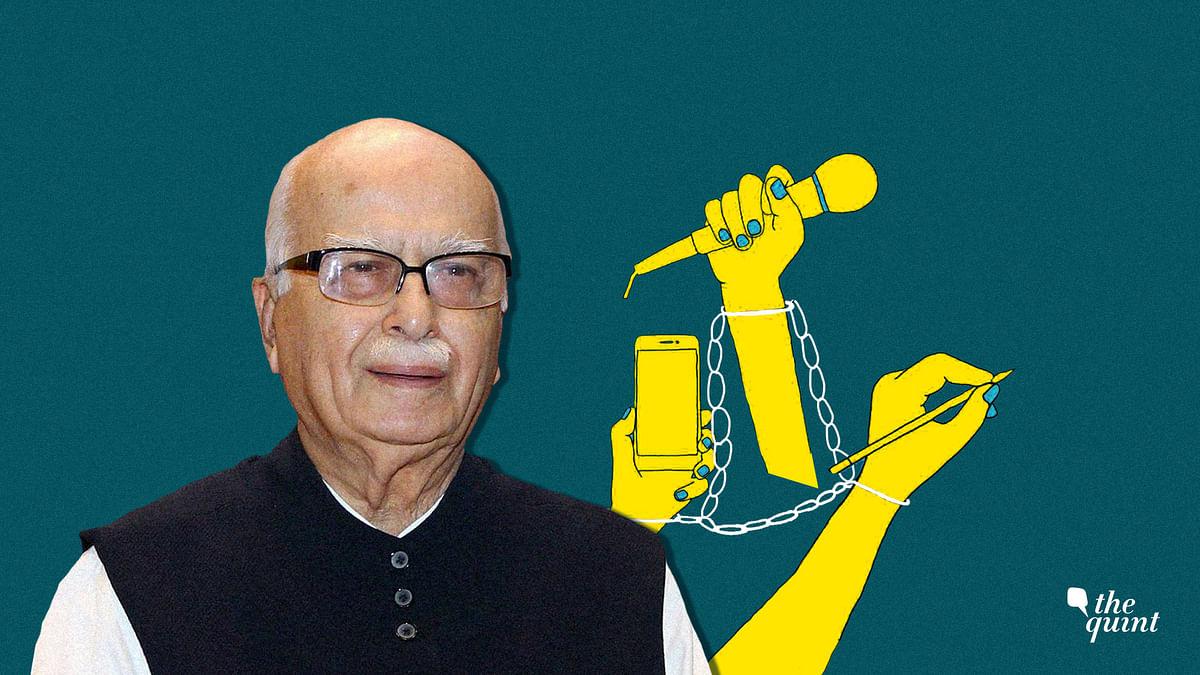Image of LK Advani used for representational purposes.